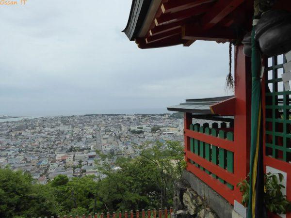 2016年6月4日 神倉神社より新宮市街を望む