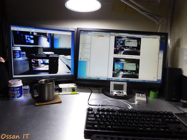 TZ60で管理人のデスクトップを撮った画像