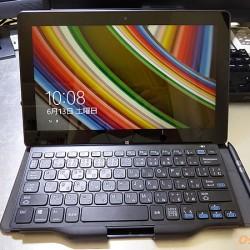 エプソンダイレクトのWindowsタブレットTN10Eのセットアップを行った
