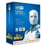 管理人おすすめのセキュリティーソフト「ESETファミリーセキュリティ3年版」特売情報です