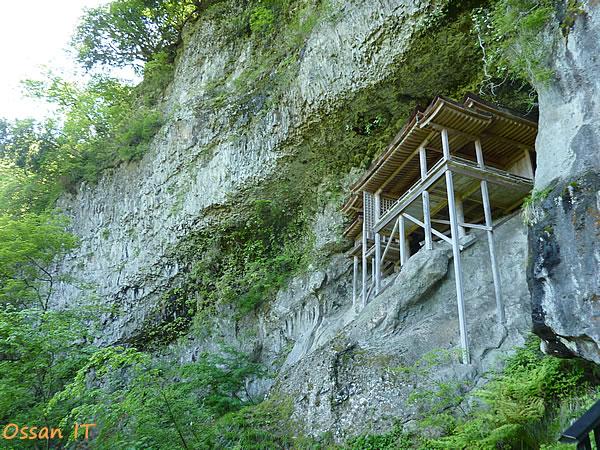 三徳山の奥の院である投入堂その2