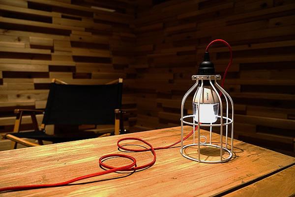 ソニーの電球型アクティブスピーカー