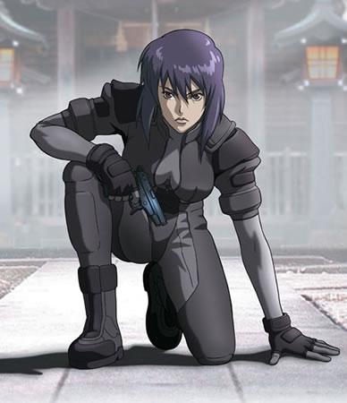 攻殻機動隊の主人公 草薙素子