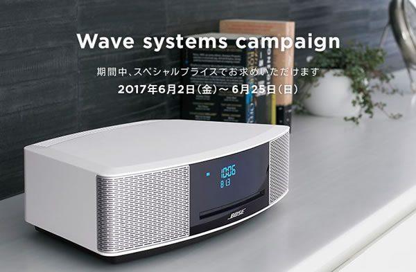 BOSE-Wavesystemsのキャンペーン
