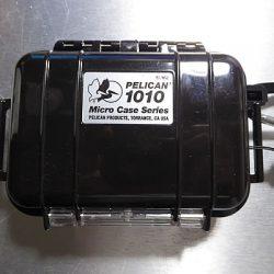 RX100用にPELICAN 1010ケースを調達したら誂えたようにピッタリで満足