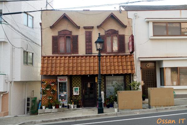神戸北野をRX100M3で撮ってみた、トアロード沿いの渋い純喫茶