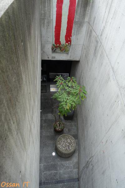 神戸北野をRX100M3で撮ってみた、ハンター坂のビルの中庭