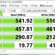 CrystalDiskMark7.0.0(64bit)によるWD Blue 3D NAND SATA SSDのベンチマーク