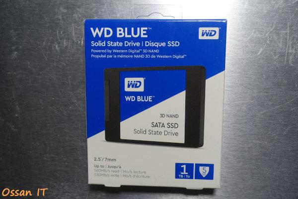 Amazonでポチった、WDのWD Blue 3D NAND SATA SSD 1TB