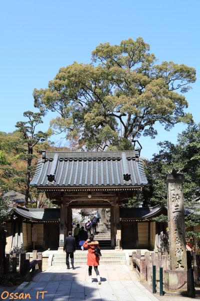 久しぶりに宝塚の清荒神へ行ってきた、清荒神清澄寺の山門、EF24-105
