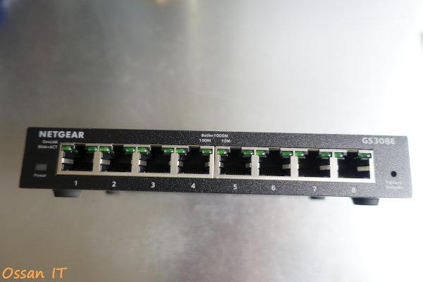 20200509ネットギアのGS308EというVLANの組める8ポートスイッチその2