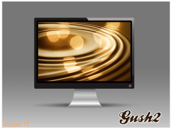 現在使用しているのはGush2というテーマ