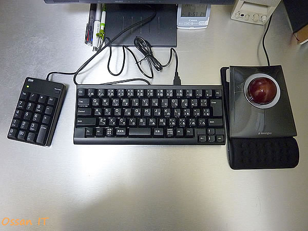 2011年に導入したPFUのHappyHackingKeyboard